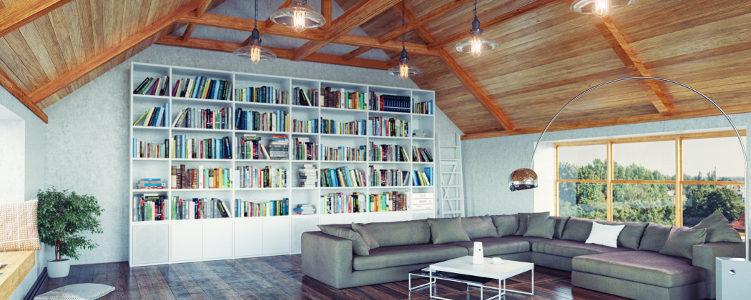 loft conversion storage books