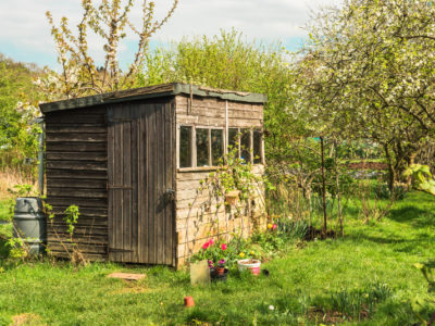convert your garden shed