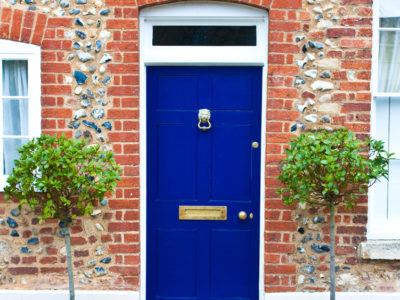 5 Different Ways to Create an On-Trend Front Door
