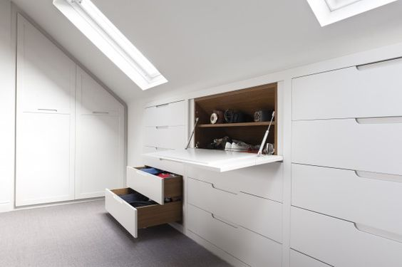 loft conversion storage drawers