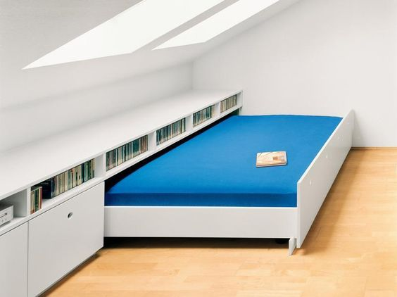 loft conversion storage bed