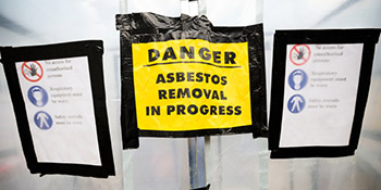 Asbestos removal in Yateley