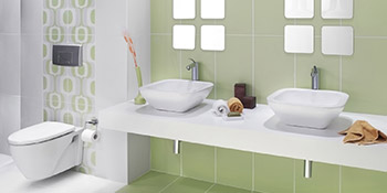 Bathroom design and install in Brampton