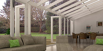 Conservatory blinds in Brandon