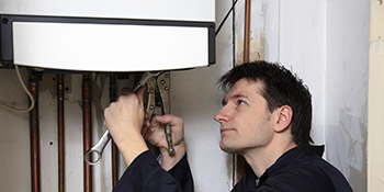Boiler repair and service in Treharris