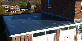Flat roof in Cardiff