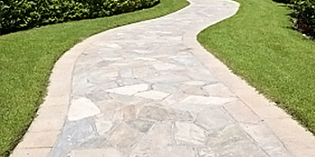 Crazy paving and slabbing driveways