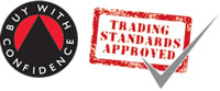 Buy With Confidence - Trading Standards Approved logo