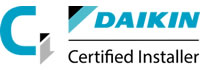 Daikin Certified Installer logo