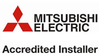 Mitsubishi Electric Accredited Installer logo