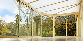 Aluminium conservatories in Dollar