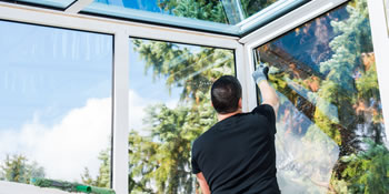 Conservatory cleaning in Ibstock