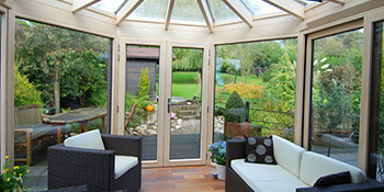 Conservatory in Selkirkshire