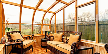 Wooden conservatories in London