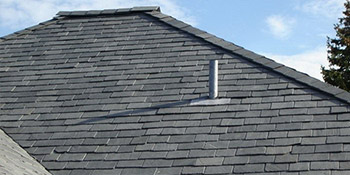 Tile or slate roofing in Leicester