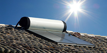 Solar thermal in London