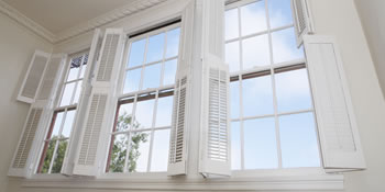 Window shutters in Fleet