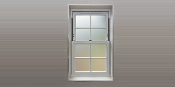Sash window in Boston